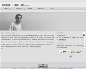 My oldwebsite